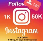 Instagram REAL HQ Worldwide Follow | 𝐍𝐎𝐍𝐃𝐑𝐎𝐏 | Instant 🔥| 90 Days Refill