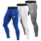 Men's Compression Leggings Tight Long Pants Sport Running Base Layer Quick Dry