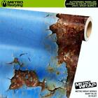 Metro Wrap 3D Baby Blue Rust Vinyl Film