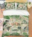 3D Kangaroo Tree A048 Bed Pillowcases Quilt Duvet Cover Andrea Haase Zoe