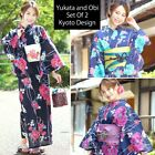 Внешний вид - Kimono Yukata and OBI Belt Set Of 2  Brand New x03