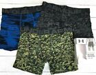 Under Armour Boxerjock Boxer Briefs - 3-Pack, 6 inch, Camo, MSRP $45