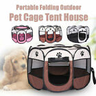 Pet Dog Cat Bed House Portable Fold Octahedral Fence Waterproof OxfordCloth Tent