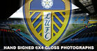 """LEEDS UNITED FC HAND SIGNED 6"""" X 4"""" GLOSS PHOTOGRAPHS (VARIOUS PLAYERS)"""