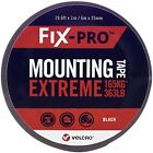Velcro FIX-PRO Mounting Tape Weather Resistant High Performance - 6m x 25mm