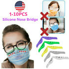 Anti Fog Silicone Nose Bridge Fogging Glasses Eye Prevent Holder Mask Reusable t