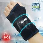 Wrist Ice Pack Wrap - Hand Support Brace with Reusable Gel Pack Hot Cold Therapy