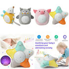 Plush Stuffed Animal Star Projector Night Light with Music for Toddler Kids