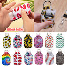 Keychain Holder Travel Bottle Refillable Containers Reusable Bottles Key Chains