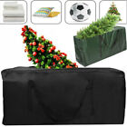 Black Christmas Tree Zip Up Storage Bag For Up To 7ft/9ft Trees Decorations Sack