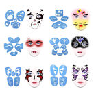 Reusable Men Women Body Face Painting Stencils Template Stage Makeup Tattoo