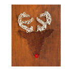 """7.8x9.8"""" String Art Deer Kits Home Decoration Thread Winding Drawing Crafts"""