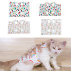 Small Animals Cat Recovery Suit Surgery Wear Cloth Breathable For Cats Pets
