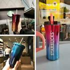 2021 China Starbucks Stainless Steel Straw Cup Tumbler Great Gift Men Women