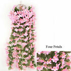 Artificial Fake Hanging Flowers Vine Plant Home Garden Decor Outdoor Wedding