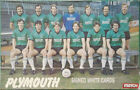 PLYMOUTH ARGYLE FC AUTOGRAPHS FROM LATE 1970-90's SIGNED WHITE CARDS