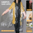 100Pcs Disposable Hairdressing Capes Gowns Hair Cut Cape Barber Salon Shawl Gown