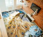 3D Yellow Feather 2582 Floor WallPaper Murals Wall Print Decal UK Zoe