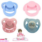 2/4pcs Dummy Pacifier For Reborn Baby Dolls With Internal Magnetic Accessories