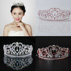 Crystal Wedding Tiara Bridal Crowns Prom Pageant Princess Crown