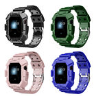 For Apple Watch Series 7 6 5 4 3 2 1 SE Band Rugged Sports Band Full Protective