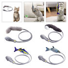 Fish Cat Toys Catnip 3D Simulation Dancing Fish Interactive Playing Wand Toy