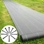 Heavy Duty Weed Control Fabric Ground Cover Garden Landscape Membrane 1M-4M