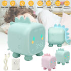7 Color LED Changing Kid Cute Digital Snooze Alarm Clock Night Light Thermometer