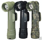 ARMY STYLE BLACK D-CELL FLASHLIGHTS - BLK - GRN OR CAMO