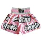 new PINK DUO STARS MUAY THAI KICKBOXING BOXING SHORTS