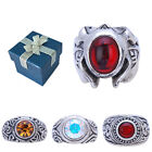 Vintage Motif Design Mens Ring Size 6 7 8 9 w/ Gift Box