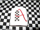 RACE FLAG RACING CHECK EMBROIDERY INITIAL TOILET PAPER personalized gift