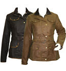 Elveden Square Ladies Wax Jacket Women Waterproof Wax Jacket