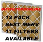 QUALITY MERV 11 HOME AIR FILTERS BEST AVAL LONGEST LIFE