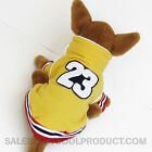 Yellow Basketball Costume dog clothes APPAREL Chihuahua