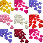 100PCS Heart Design Silk Rose Petal Wedding Party Artificial Flower Petal Decor