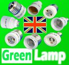 B22/E27/E40/E14/B15 to GU10/MR16 LED/CFL Light Lamp Adapter Converter UK Stock
