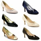 Ladies Stiletto Heel Bridal Evening Diamante Court Sandals Womens Shoes UK 3-8