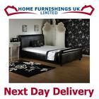 "LUXURIOUS Royale 2ft 6"" Small Single Faux Leather Bed FREE NEXT DAY DELIVERY"