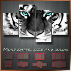 Tiger Black & White Animals Art Canvas Box More Color & Style & Size !!