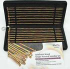 KnitPro Symfonie Wood Straight Knitting Needle Set (25, 30, 35 or 40cm length)