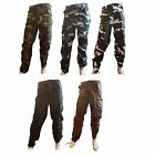 Mens Premium Quality Army Military Camo Combats Cotton Work Trouser Pant Bottom