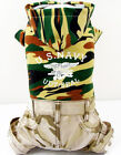 T Army Navy Camo Hoodie Pants (1pc) Cute costume dog clothes Chihuahua