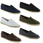 New Mens Casual Espadrilles Canvas Pumps Plims Flat Shoes Sizes UK 6 7 8 9 10 11