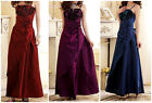 Elegant Bridesmaid  Evening Prom Party Ball Dress UK8/10/12/14/16/18 3 Colors