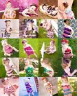OPTIONAL NewBorn Baby Lace Chiffon Ruffles ONE PIECE Petti Romper 4 Girl NB-3Y