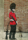 Poster Print: Banksy: Beefeater A3 / A4