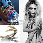 jbr4 Celeb Style Vintage Punk Wraparound Eagle Claw Clamp Bracelet Bangle Cuff