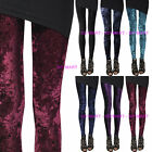 Velvet Women Rock Punk Funky Sexy Leggings Tights Pants SZ S Small M Medium