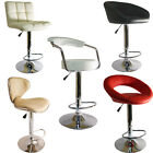 FAUX LEATHER KITCHEN BREAKFAST BAR STOOL BARSTOOLS PU SWIVEL NEW STOOLS